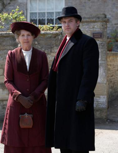 Isobel and Matthew Crawley.