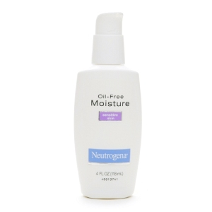 Neutrogena Oil Free Moisture, Sensitive Skin. Image via Drugstore.com