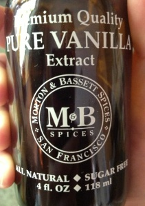 My absolutely favorite vanilla extract EVER. Yes, I have a favorite VE. I'm a nerd.