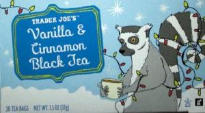 Lemur is enjoying his tea. Image via CookTJ.com.