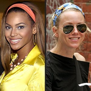 I look just as amazing as Beyonce in my headbands. True story. Image via People.