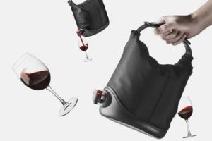 Perfect wino bag. Image via Trendir.