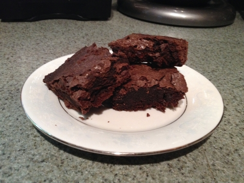 Meh brownies brought to you by Cook's Illustrated.