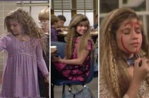 crimped hair